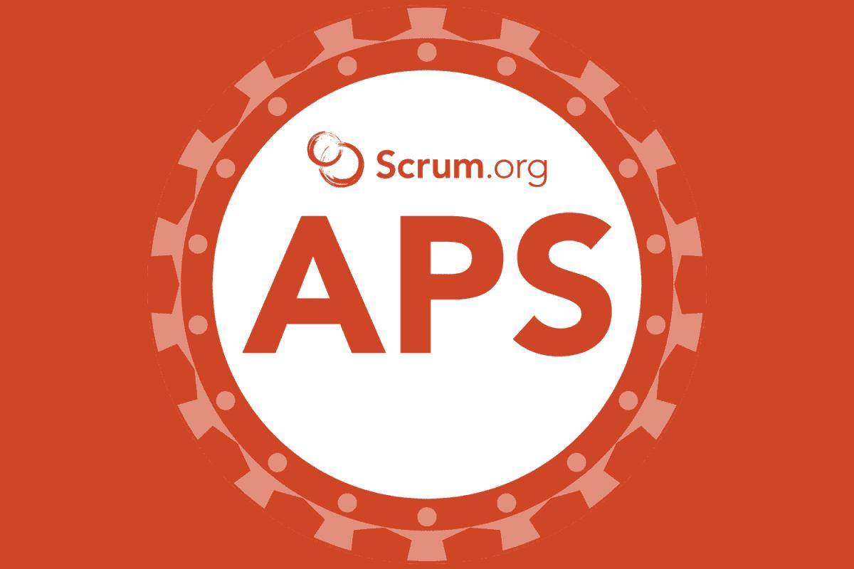 APS course badge